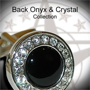 Black Onyx & Crystal